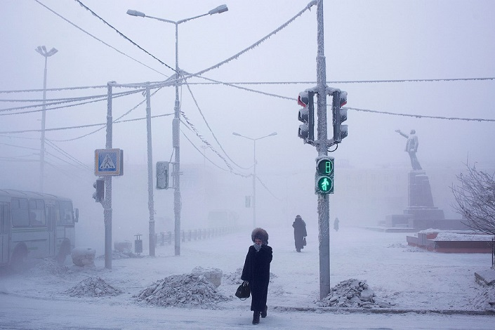 The village of Oymyakon | Yakutia