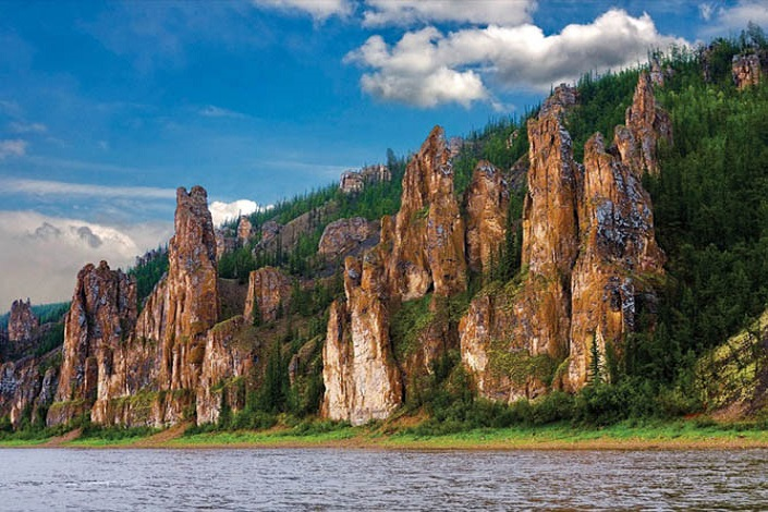 Stone Forest on the Lena River | Yakutia